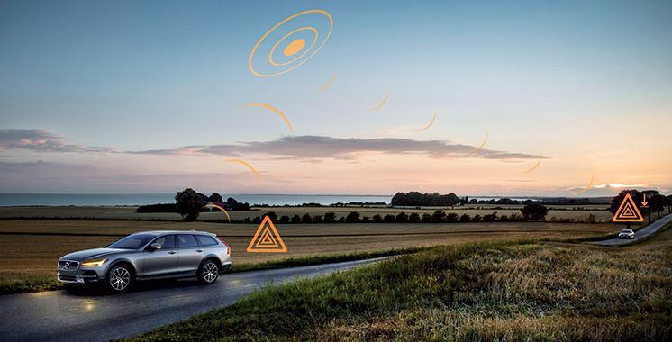 Volvo Cars partage son système connecté pour une circulation sécurisée