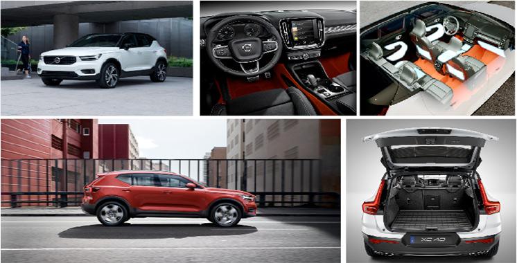 A partir de 390.000 DH : Volvo XC40, une nouvelle beauté  sur les chaussées en cet été