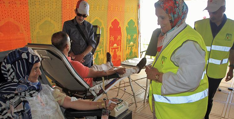 Une campagne de don du sang à Dar Bouazza pour renflouer  les stocks de Casablanca-Settat