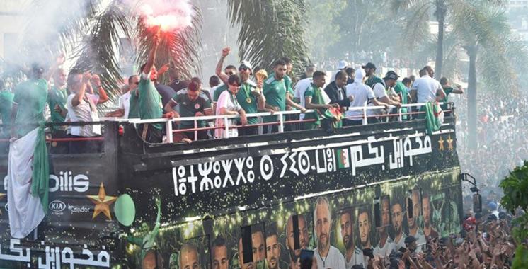 SM le Roi félicite le peuple algérien suite à la victoire en finale de la CAN : L'Algérie accueille dans la liesse ses héros
