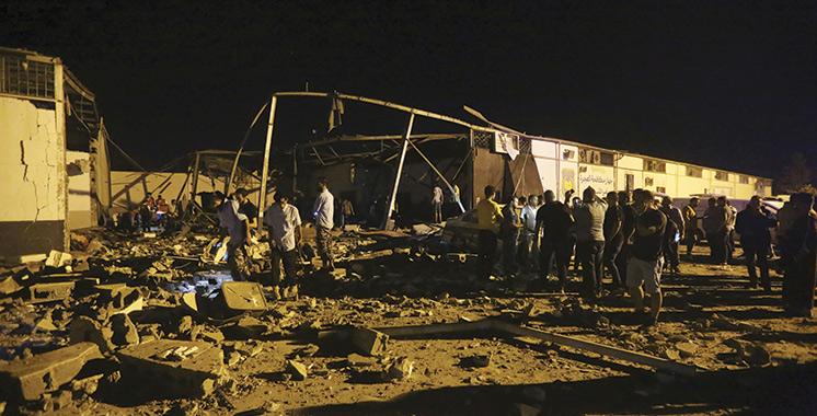 Sept Marocains tués dans un raid en Libye