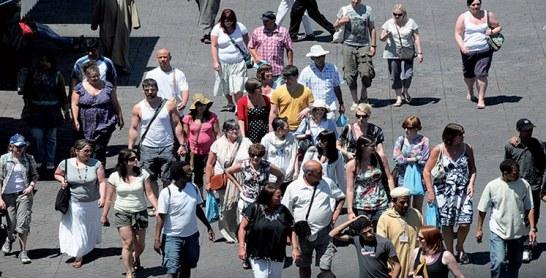 Activité touristique : 4,3 millions de touristes en cinq mois