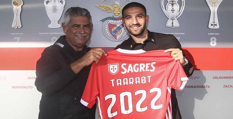 Championnat de Portugal : Adel Taarabt renoue avec Benfica jusqu'en 2022