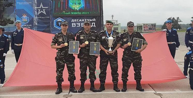 Jeux internationaux de l'armée 2019 : Les parachutistes marocains brillent
