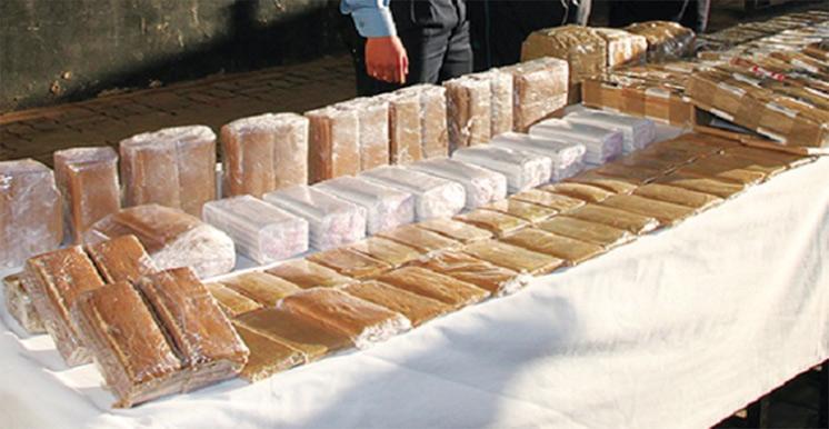 Saisie à Algésiras de 505 kg de chira à bord d'un véhicule utilitaire immatriculé au Maroc : La police tangéroise ouvre une enquête