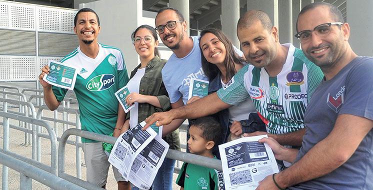 Nouvelle billetterie sportive de Guichet.ma : Les supporters peuvent accéder au stade en un temps record