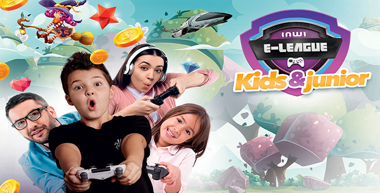 Inwi lance «e-league Kids & Junior» pour parents et enfants
