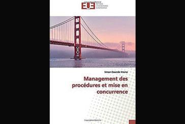 Management des procédures et mise en concurrence, de Simon Ossende Nteme