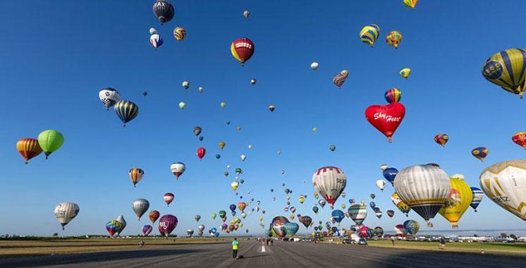 Participation distinguée  du Maroc au Mondial  Air Ballons en France