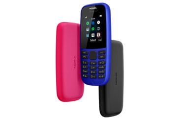 Doté d'une batterie à très haute autonomie : Le Nokia 105 disponible sur le marché
