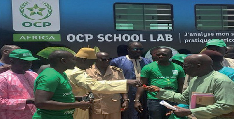 Lancement au Ghana de l'«OCP School Lab»