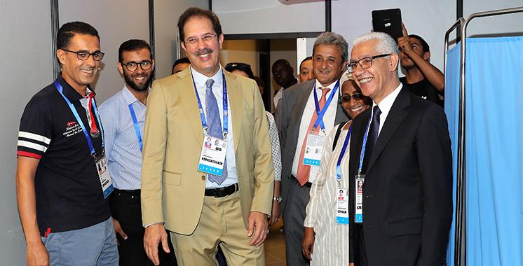 Le village de la 12e édition des Jeux africains ouvre ses portes à Rabat