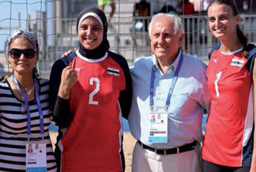 Beach-volley – Dames : La sélection égyptienne décroche la médaille d'or aux dépens du Kenya