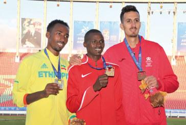 Soufiane El Bakkali se contente  de la médaille de bronze