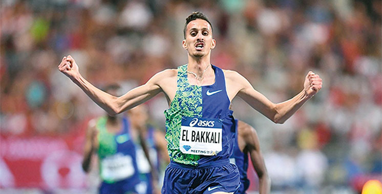 Meeting international d'athlétisme de Marseille:  Soufiane El-Bakkali s'impose au 1500m