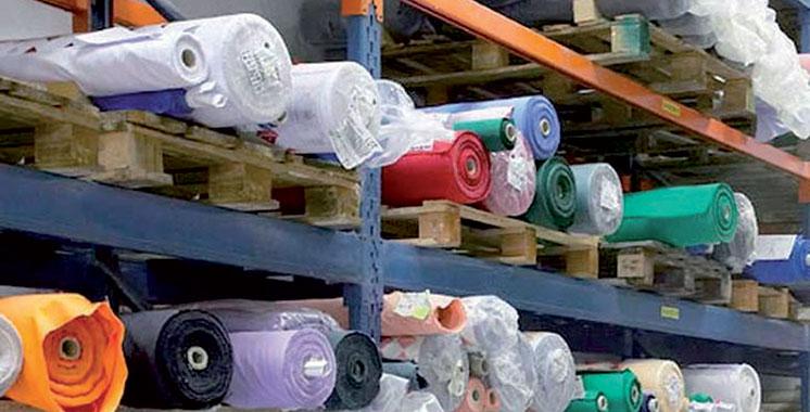 Belle prise de la douane :  Saisie de 162 tonnes de tissus de haute qualité à Casablanca et Oujda