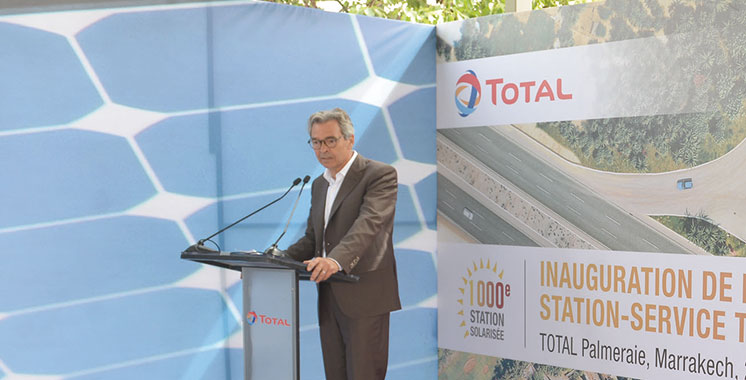 Total inaugure sa 1.000e station-service solaire à Marrakech