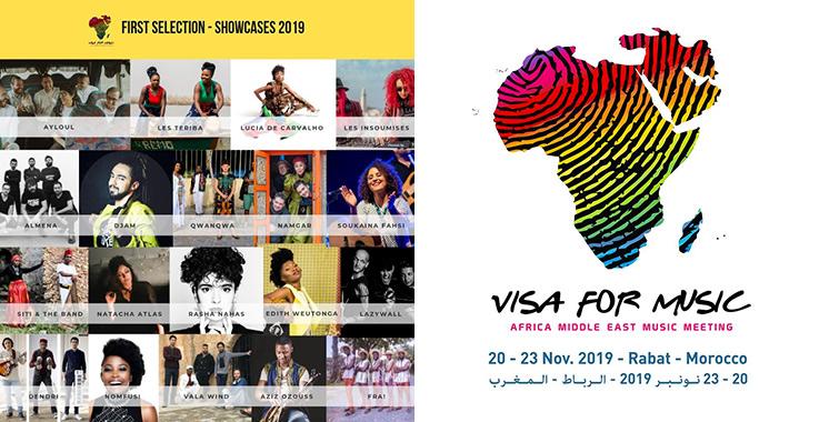 Visa for Music 2019 : Les premiers noms dévoilés