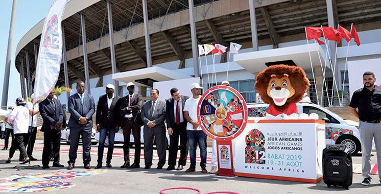 Les 12ès Jeux africains du 19 au 31 août dans plusieurs villes : La caravane de promotion démarre à Rabat