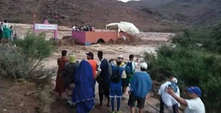 Taroudant : Des intempéries font 7 morts