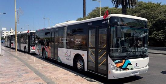 Rabat : Mise en service des nouveaux autobus  du Groupement Alsa-City Bus