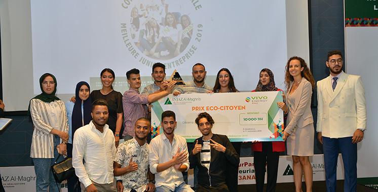 «Eco-Tire» remporte le prix de l'écocitoyenneté offert par Vivo Energy Maroc