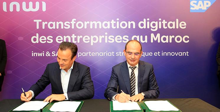 Partenariat stratégique : Inwi devient le 1er hébergeur et distributeur de SAP en Cloud souverain au Maghreb