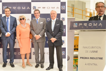 A Atlantic Free Zone Kénitra et avec 320 millions de dirhams : L'usine Proma construite en un temps record de 6 mois