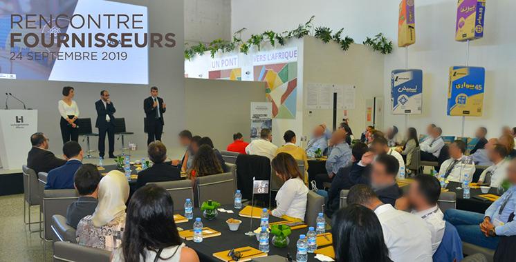 «Ensemble pour un partenariat durable» : LafargeHolcim Maroc à la  rencontre de ses fournisseurs