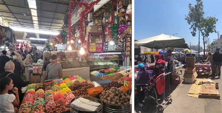 Tanger : Les commerçants du souk Casabarata suspendent leur grève