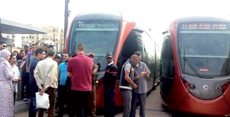Accident d'une rame de tramway T1 avec un piéton : RATP Dev Casablanca présente ses condoléances à la famille du défunt