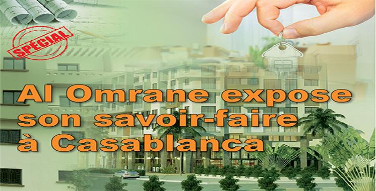Spécial : Al Omrane expose son savoir-faire à Casablanca