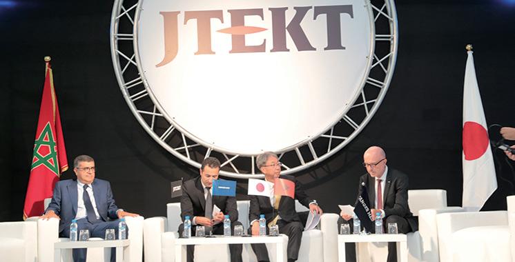 Automobile : JTEKT ouvre sa première usine africaine à Tanger
