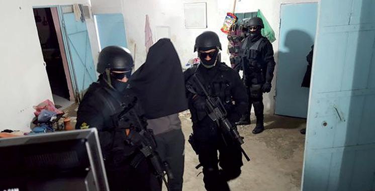 BCIJ : Démantèlement d'une cellule terroriste affiliée à «Daech»