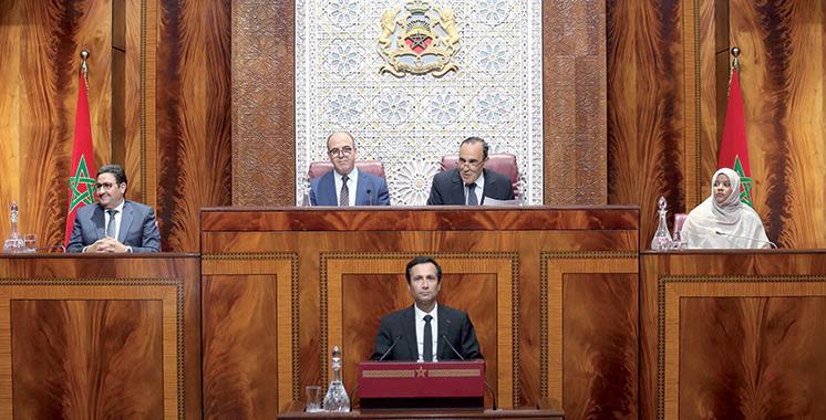 PLF 2020 : Benchaâboun présente le projet devant le Parlement