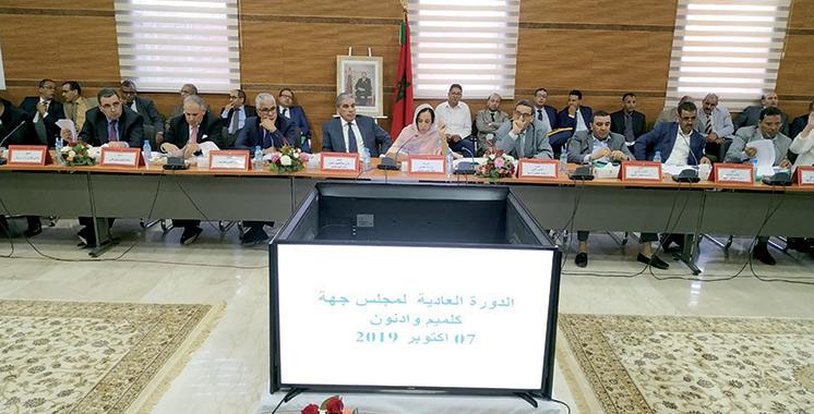Région de Guelmim-Oued Noun : Les budgets 2019 et 2020 adoptés