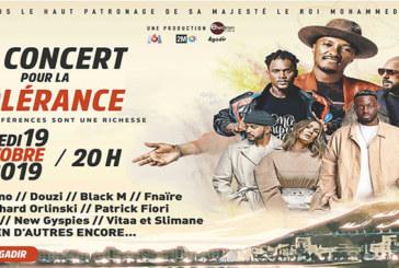 Concert pour la tolérance 2019 : Plus de 150.000 spectateurs attendus sur la plage d'Agadir