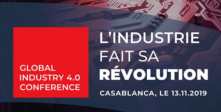 « Global Industry 4.0 Conference» : Les enjeux de l'industrie 4.0 à l'ordre du jour
