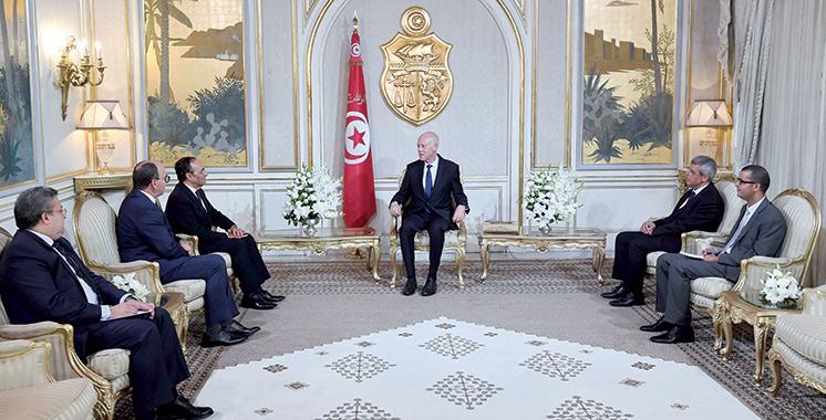 Cérémonie d' investiture du président Kaïs Saïed : Une délégation marocaine de haut niveau à Tunis