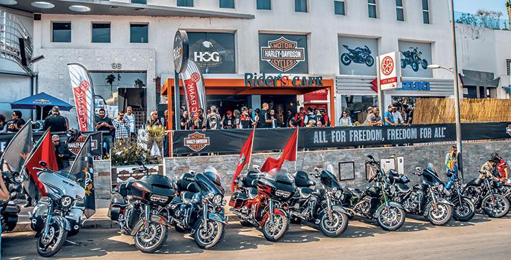 Lors d'une parade dans la métropole : 300 motards sillonnent Casablanca pour mettre en  scène l'esprit de Harley-Davidson
