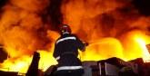 Agadir : Incendie au marché aux puces «Sidi Youssef»