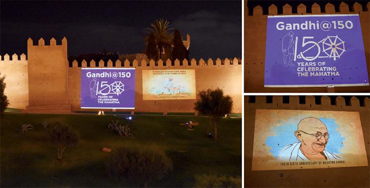 Le Maroc rend hommage au Mahatma
