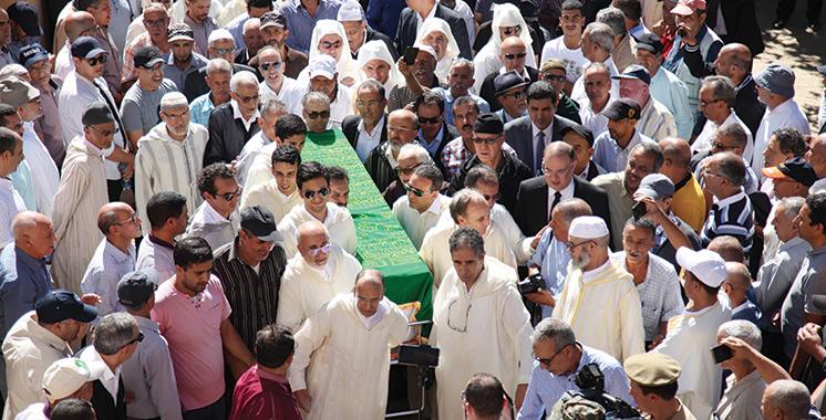 Meknès : Obsèques de l'homme d'affaires et résistant Moulay Messaoud Agouzzal