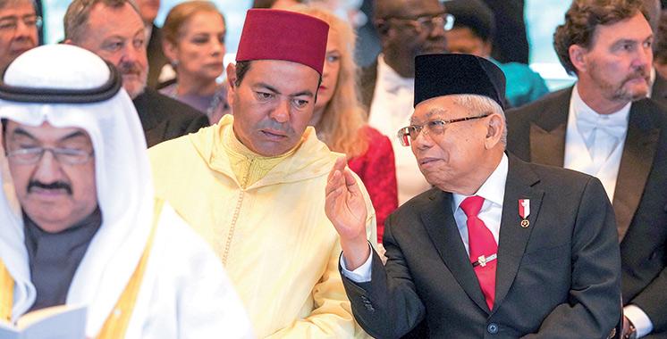 SAR le Prince Moulay Rachid présent à la cérémonie d'intronisation de l'Empereur japonais