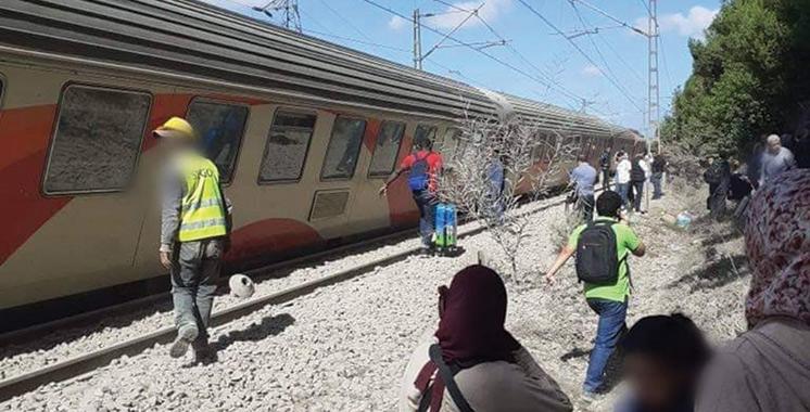 Un train a déraillé près de Bouskoura : L'ONCF frôle de nouveau la catastrophe