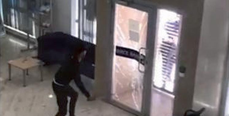 El Jadida : Un voleur d'agences bancaires  et d'assurance par effraction écroué