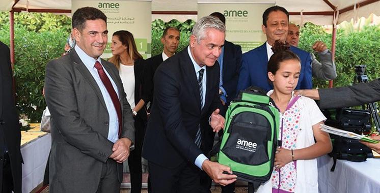 Province d'Al Haouz : L'AMEE sensibilise les écoliers à l'efficacité énergétique