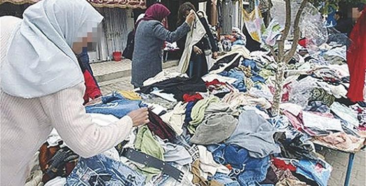 Agadir : Mise en échec d'une tentative de trafic d'une grande quantité de friperie