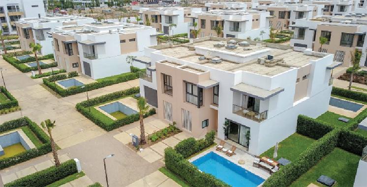 Franc succès pour Ocean Palm : 222 appartements, 38 commerces et 128 pavillons duplex achevés