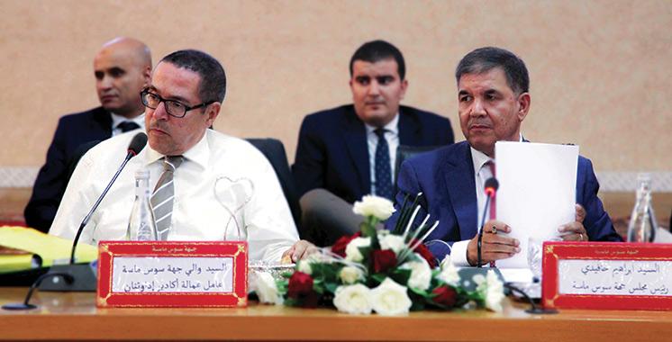 Le Conseil régional Souss-Massa approuve le projet de budget de l'exercice 2020